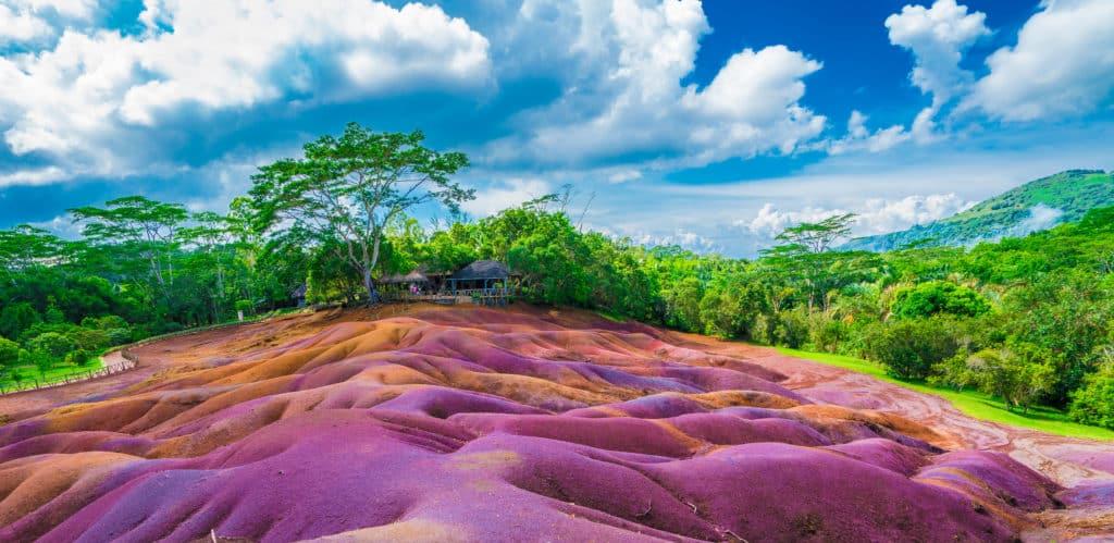Siebenfarbige Erde in Charmarel