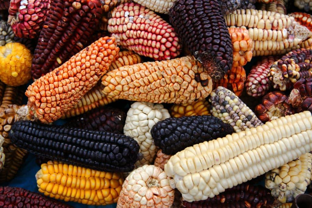 Auf den Markt in Peru