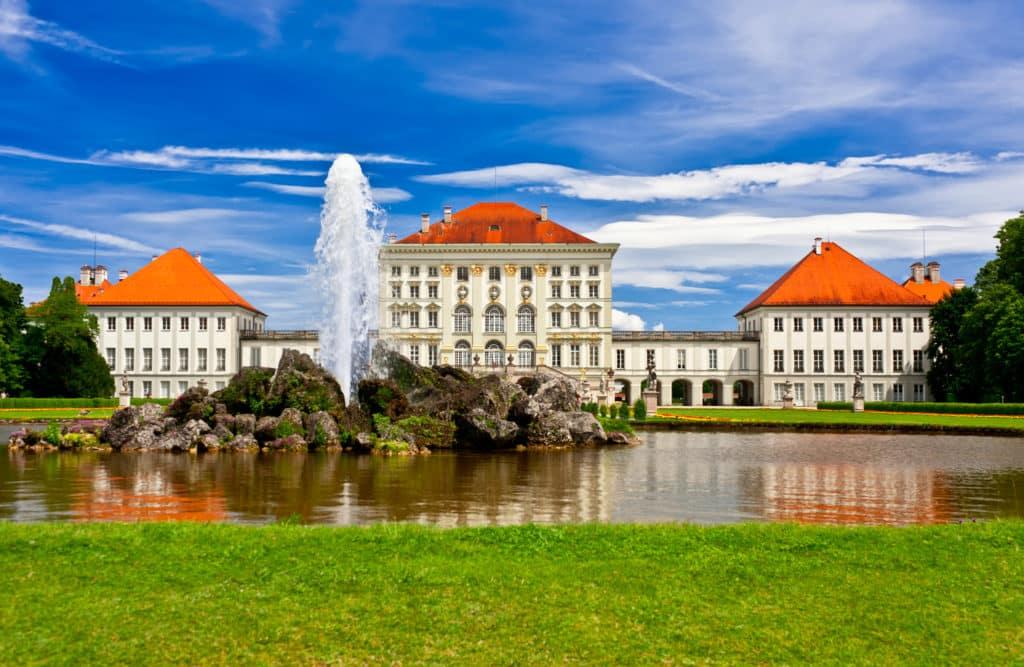 Schloss Nymphenburg mit dem Schlosspark