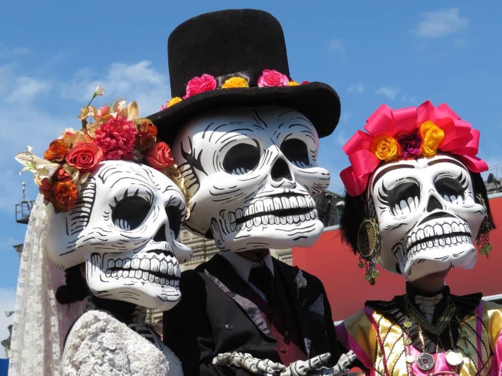 Volksfest für Verstorbenen