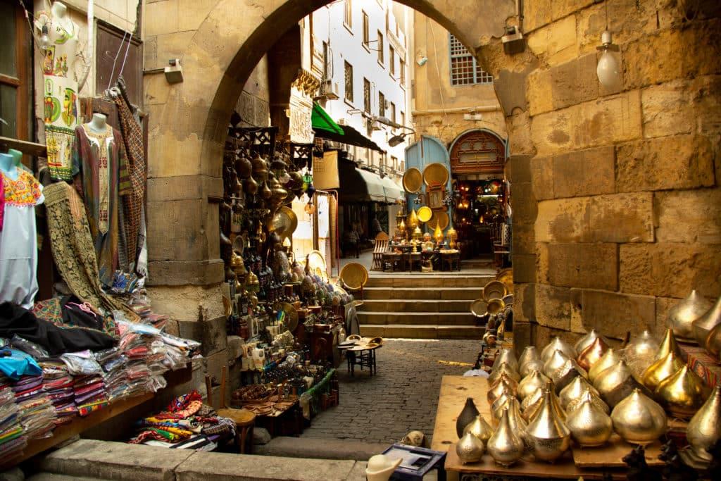Handelsmarkt in Kairo