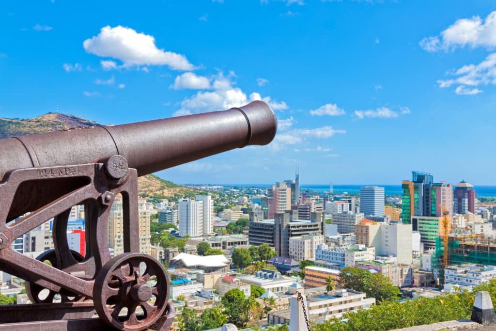 Inselhauptstadt Port Louis