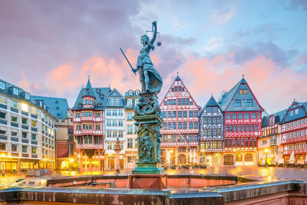 Der Römerberg in Frankfurt