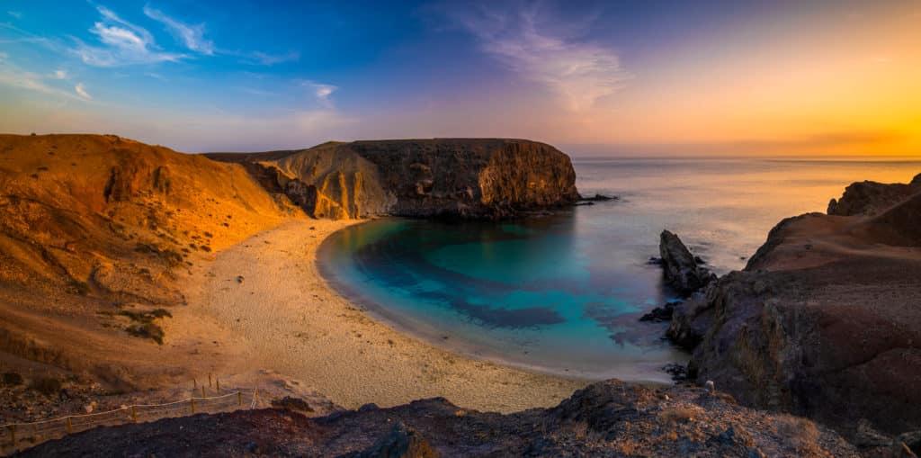 Lanzarote's Küste