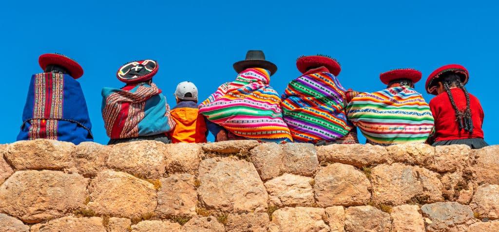 Kolonialstädtchen Cusco von Perus