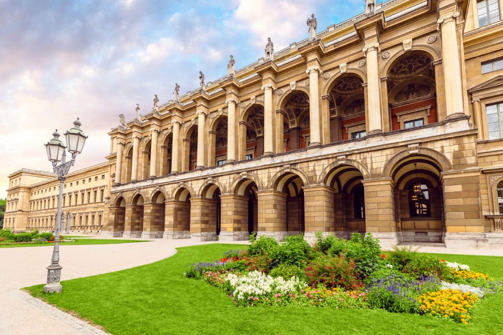 Die Residenz - Schlossmuseum in München