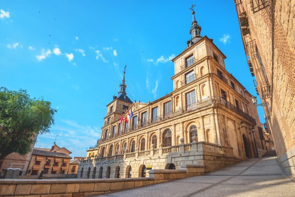 Das Rathaus von Toledo