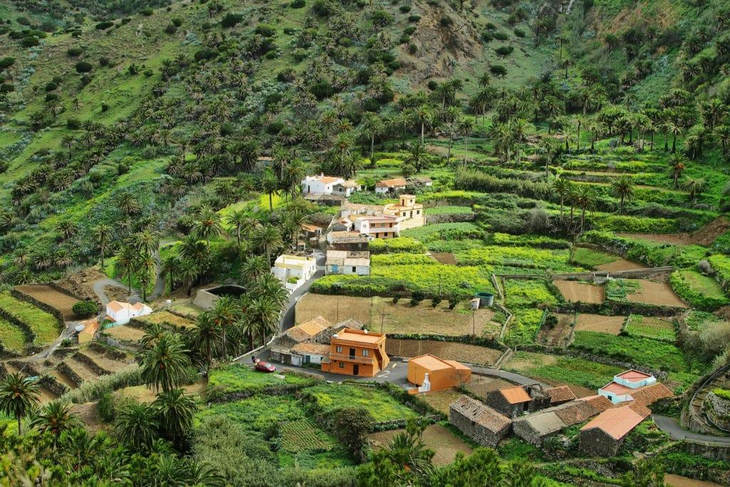 Valle Gran Rey in La Gomera