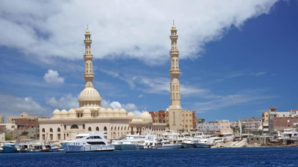 Hurghada's Hafen