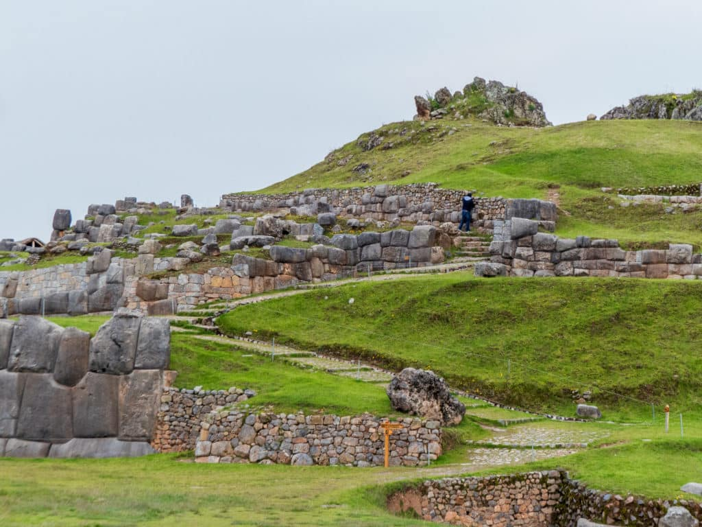 Sacsayhuamán Inka-Festung