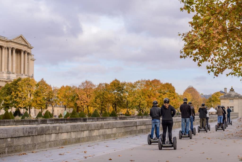 Mit dem Segway durch Paris
