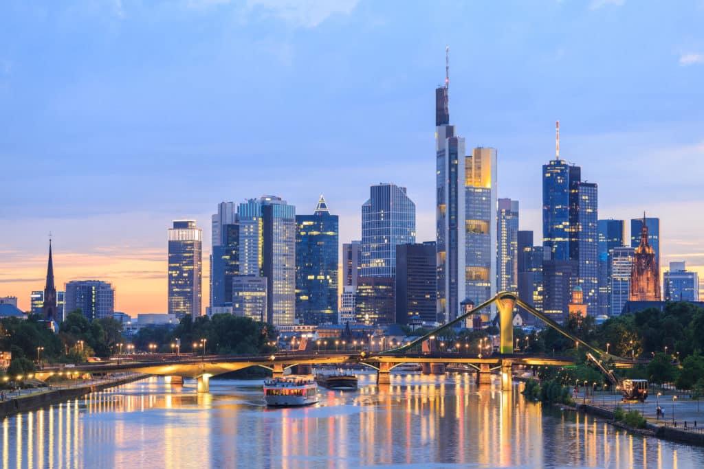 Frankfurt's Blick