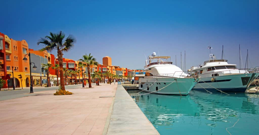 Hurghada's Downtown