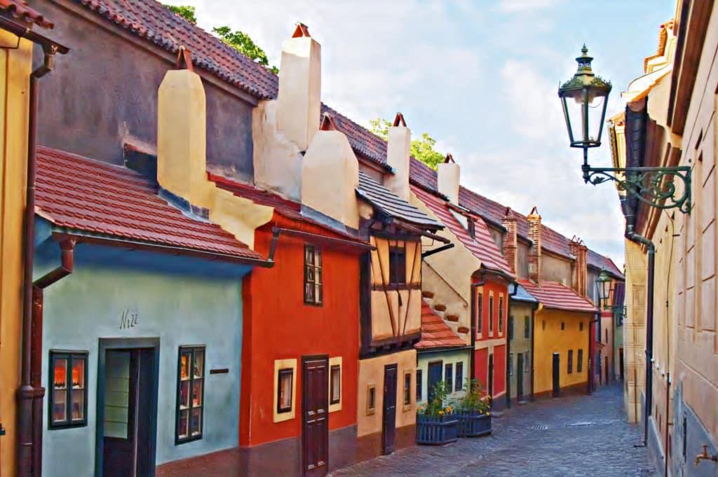 Goldene Gässchen in Prag