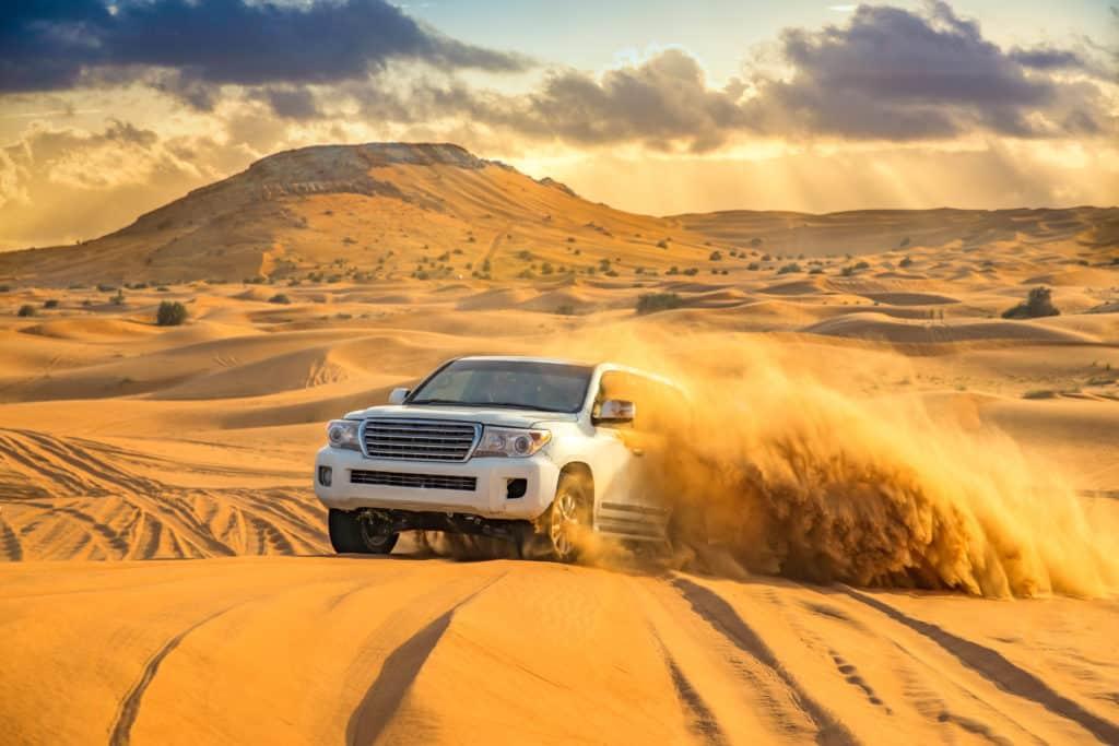 Dubai's Wüstensafari