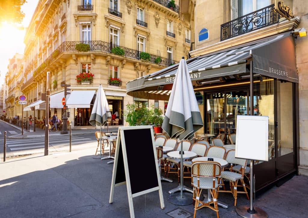 Paris's gemütlichen Cafés