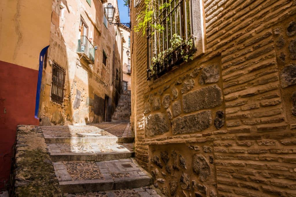 Das jüdische Viertel von Toledo